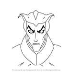 How to Draw Haxus from Voltron - Legendary Defender