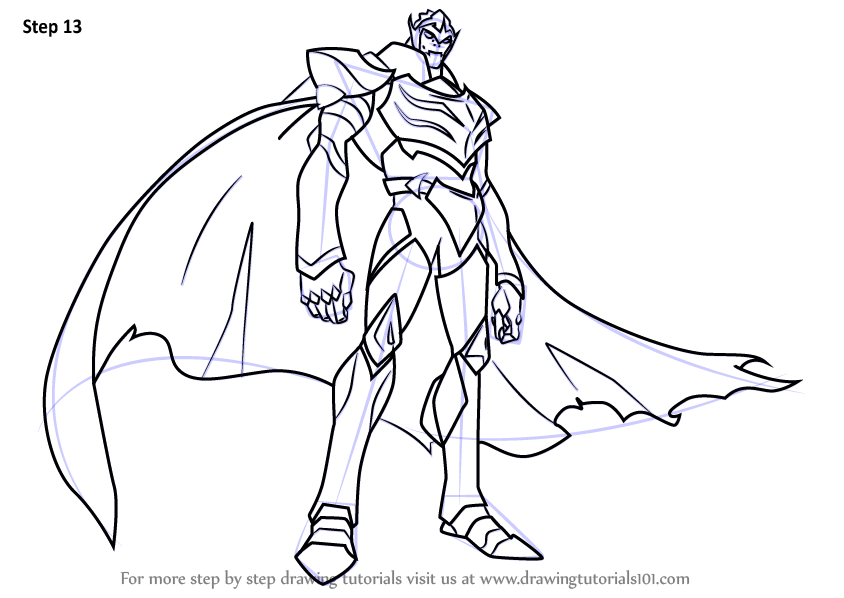 Learn How To Draw Zarkon From Voltron