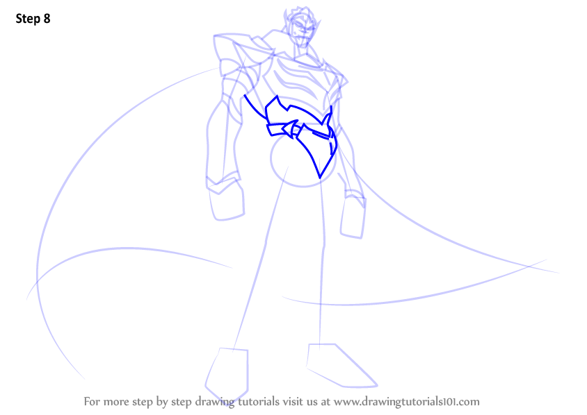 Voltron Legendary Defender In Coloring Pages: Learn How To Draw Zarkon From Voltron