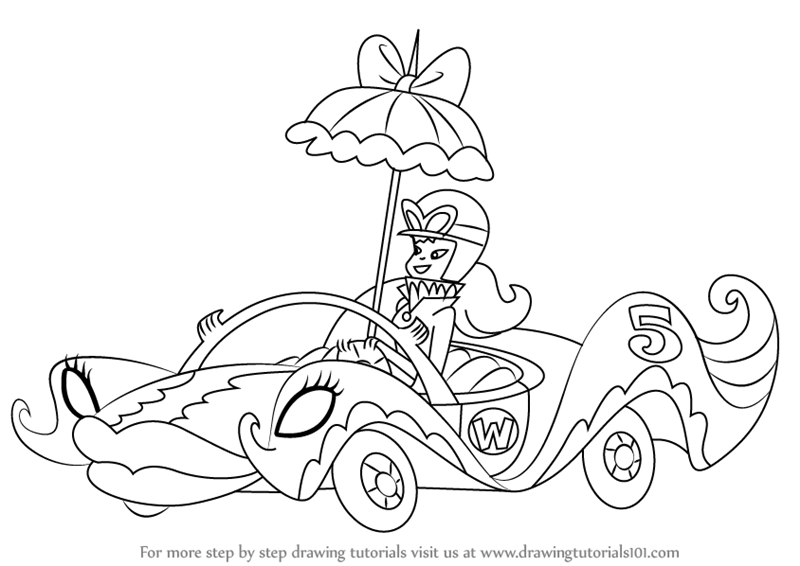 wacky racers coloring pages-#28