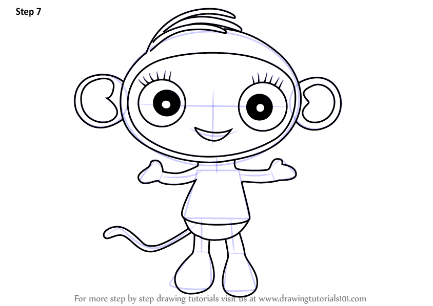 Learn How To Draw Yojojo From Waybuloo Waybuloo Step By Step Drawing Tutorials