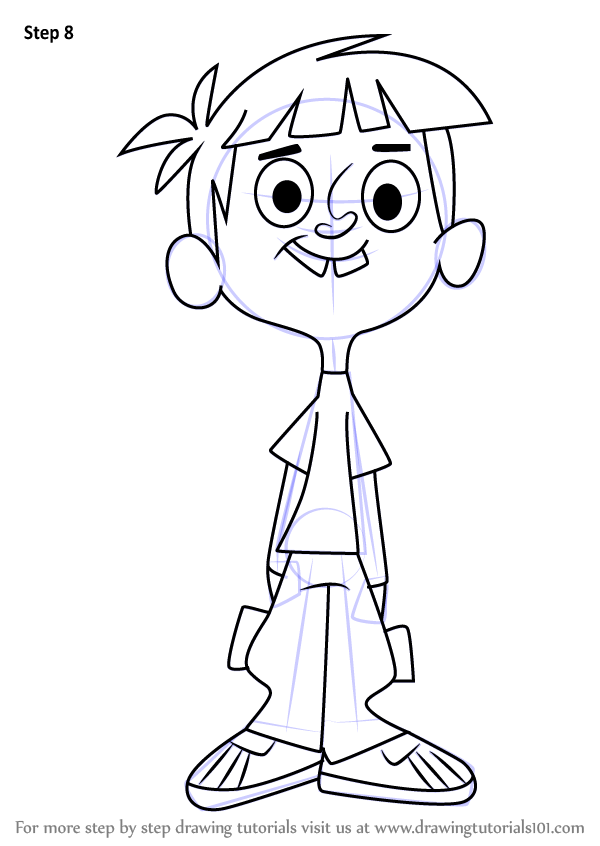Learn How To Draw Todd From Wayside Wayside Step By Step