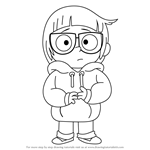 How to Draw Chloe Park from We Bare Bears