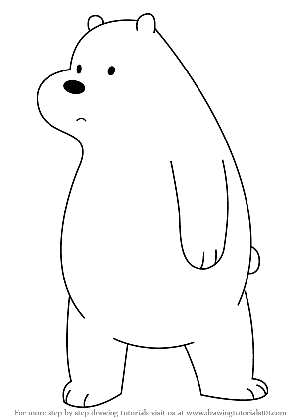 We Bare Bears Cartoon Network Coloring Pages Coloring Pages