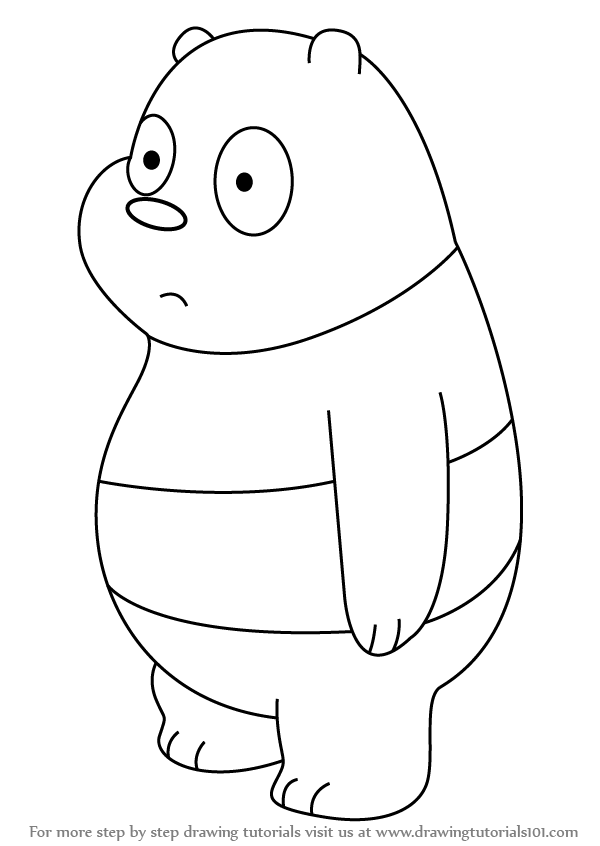 Learn How to Draw Panda Bear from