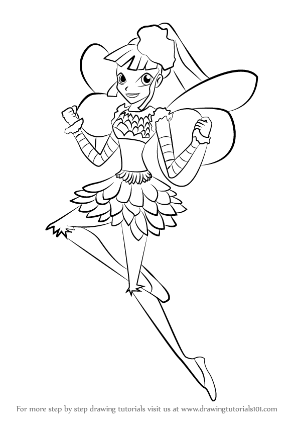 How To Draw Miele From Winx Club
