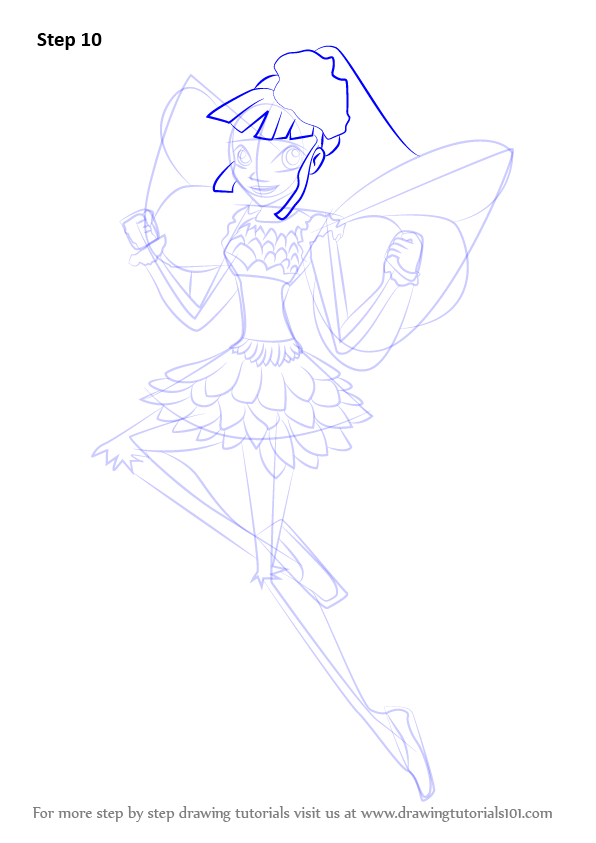 Learn How To Draw Miele From Winx Club Winx Club Step By