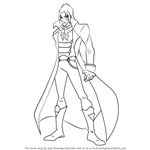 How to Draw Valtor from Winx Club