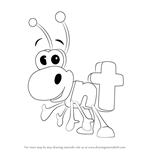How to Draw Ant from WordWorld