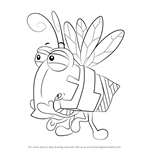 How to Draw Fly from WordWorld