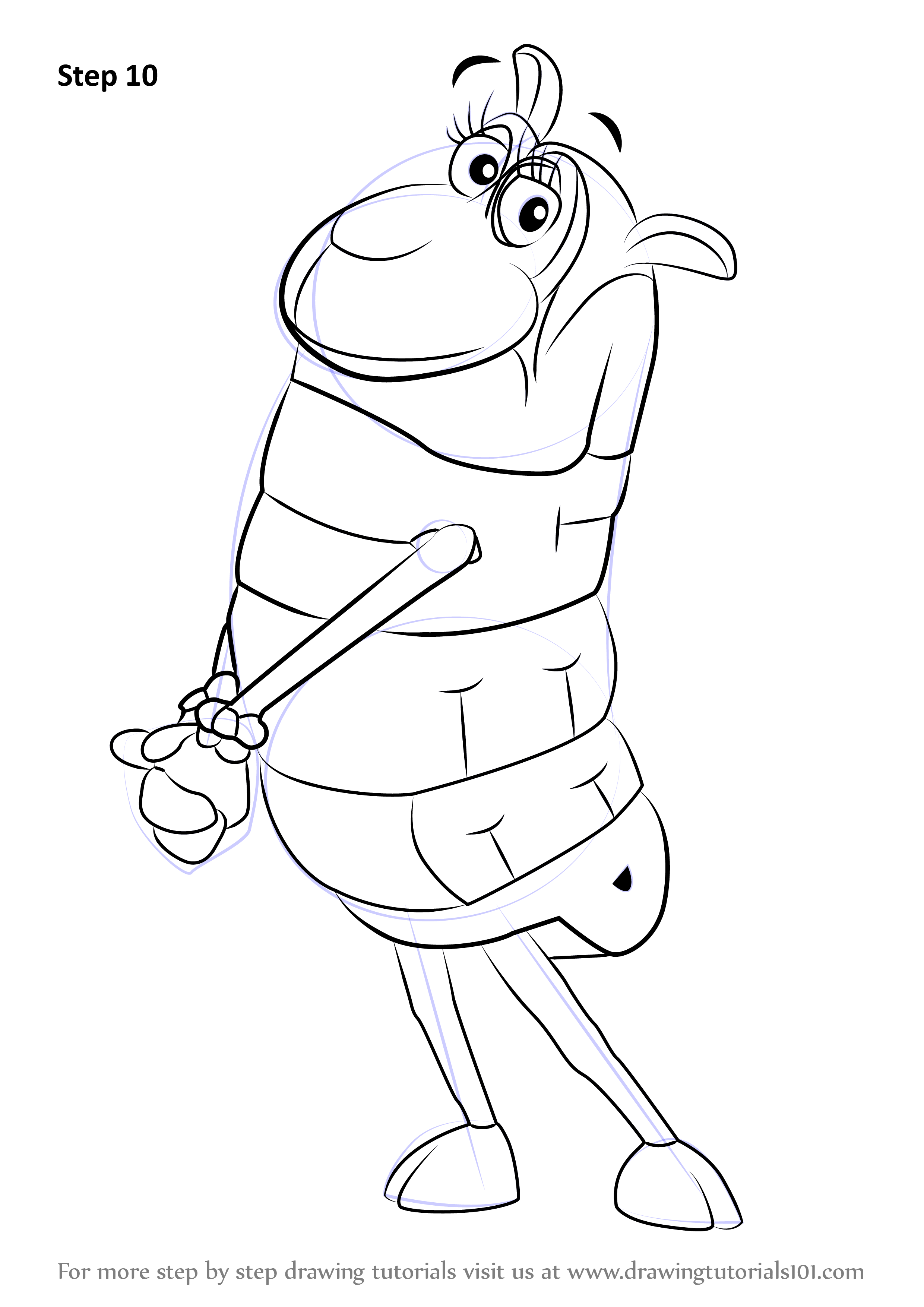 Learn how to draw sheep from wordworld wordworld step by for Word world coloring page