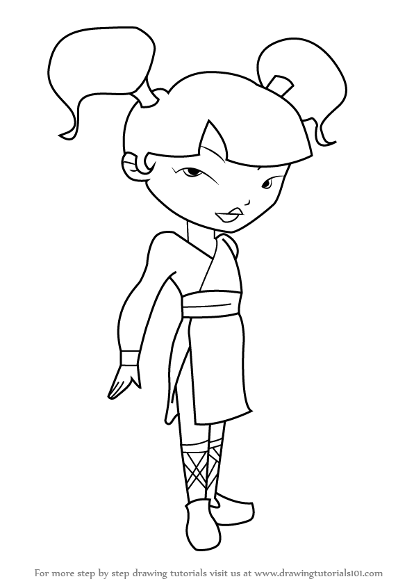 xiaolin showdown coloring pages - photo#25