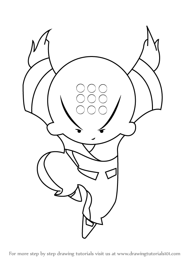 xiaolin showdown coloring pages - photo#30