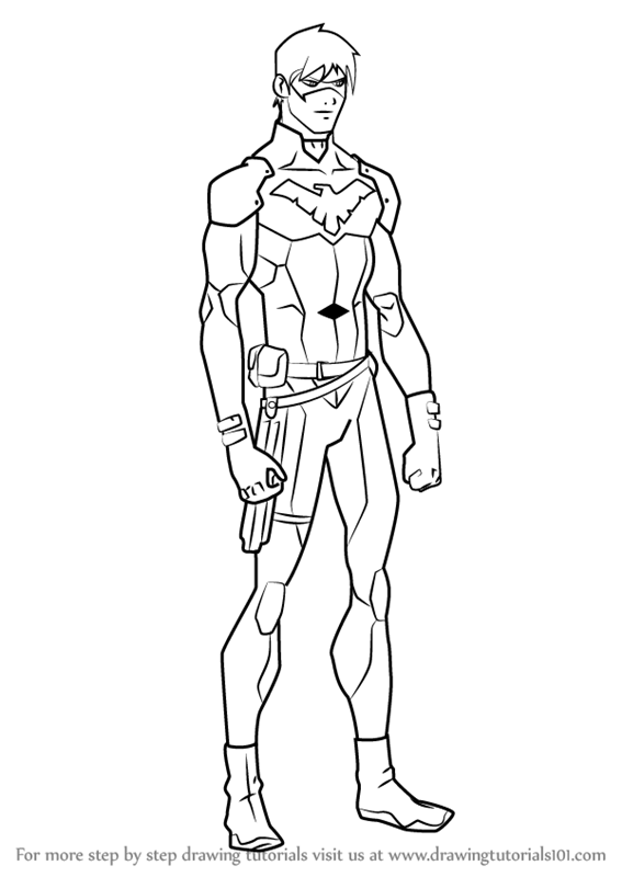 super boy coloring pages - photo#32