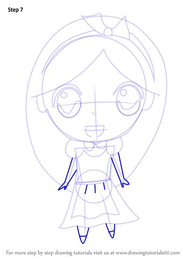 Learn How To Draw Chibi Alice From Alice In Wonderland