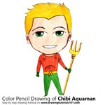 How to Draw Chibi Aquaman
