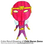 How to Draw Chibi Baron Zemo
