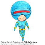 How to Draw Chibi Cyclops