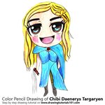 How to Draw Chibi Daenerys Targaryen