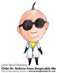 How to Draw Chibi Dr. Nefario from Despicable Me