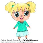 How to Draw Chibi Eleanor from Alvin and the Chipmunks