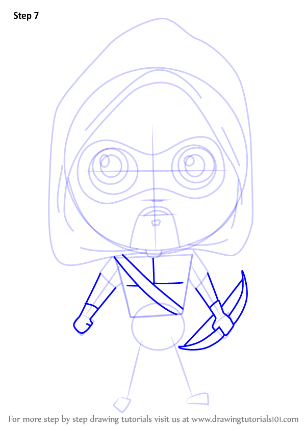 how to draw green arrow step by step