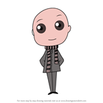How to Draw Chibi Gru from Despicable Me