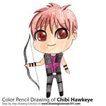 How to Draw Chibi Hawkeye
