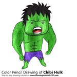 How to Draw Chibi Hulk