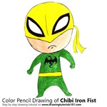 How to Draw Chibi Iron Fist