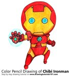 How to Draw Chibi Ironman