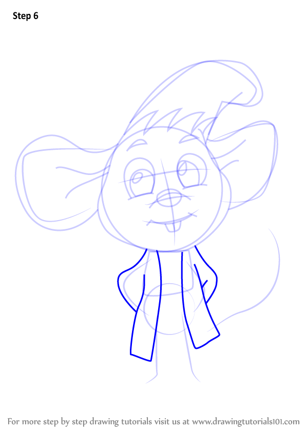 Learn How To Draw Chibi Jaq From Cinderella Chibi