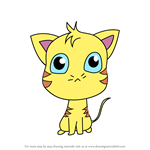 How to Draw Chibi Jaune Tom From Gay Purr-ee