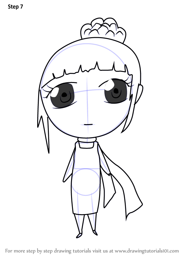 learn how to draw chibi lucy wilde from despicable me