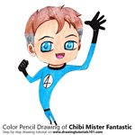 How to Draw Chibi Mister Fantastic