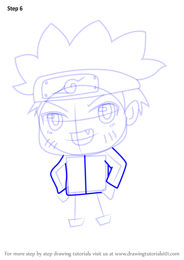 Learn How to Draw Chibi Naruto