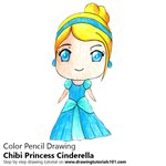 How to Draw Chibi Princess Cinderella