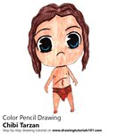 How to Draw Chibi Tarzan
