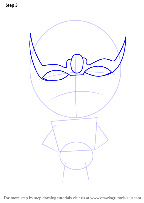 Learn How To Draw Chibi Thanos Chibi Characters Step By