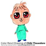How to Draw Chibi Theodore from Alvin and the Chipmunks