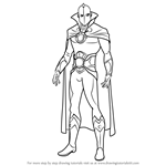 How to Draw Doctor Fate