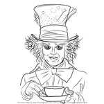 How to Draw Mad Hatter
