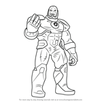 How to Draw New 52 Darkseid