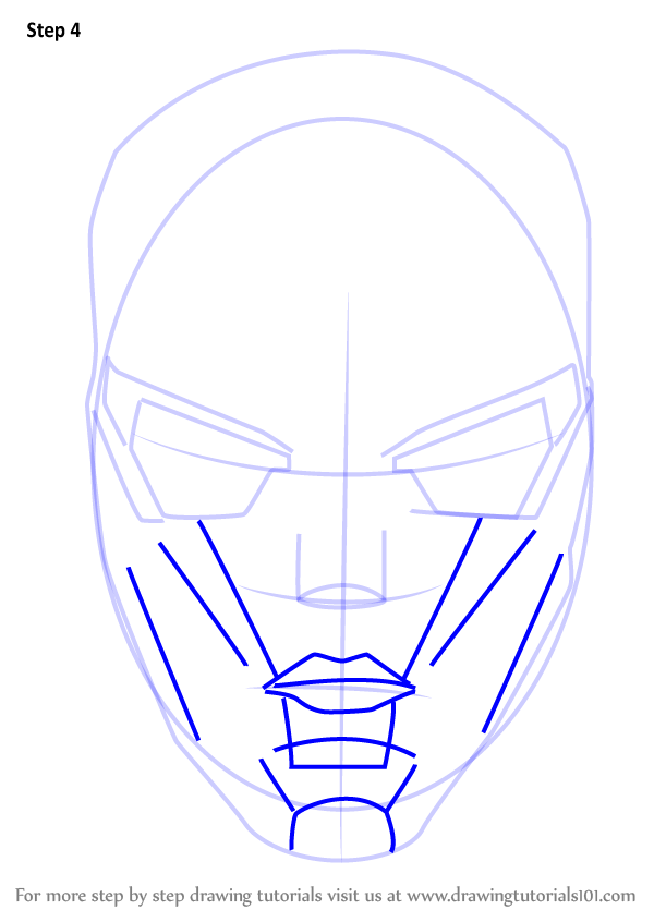 Learn How To Draw New 52 Red Hood Mask Dc Comics Step By