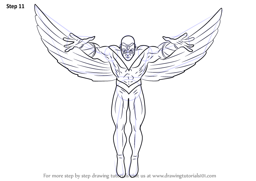 falcon avengers coloring pages - photo#33
