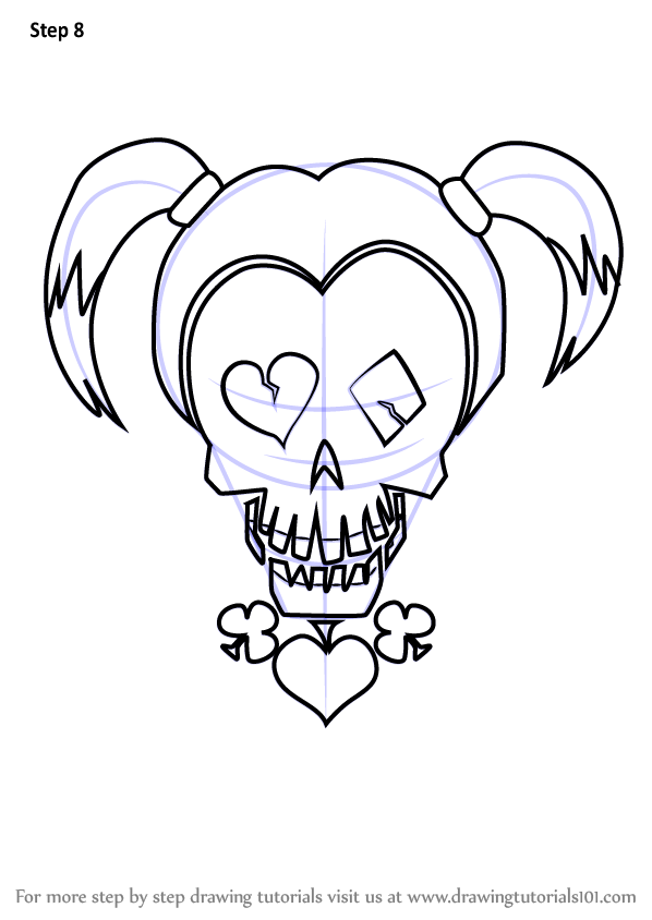 Suicide Squad Harley Quinn Anime Coloring Pages Coloring Pages