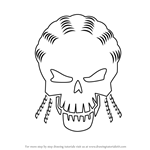 How to Draw Slipknot from Suicide Squad