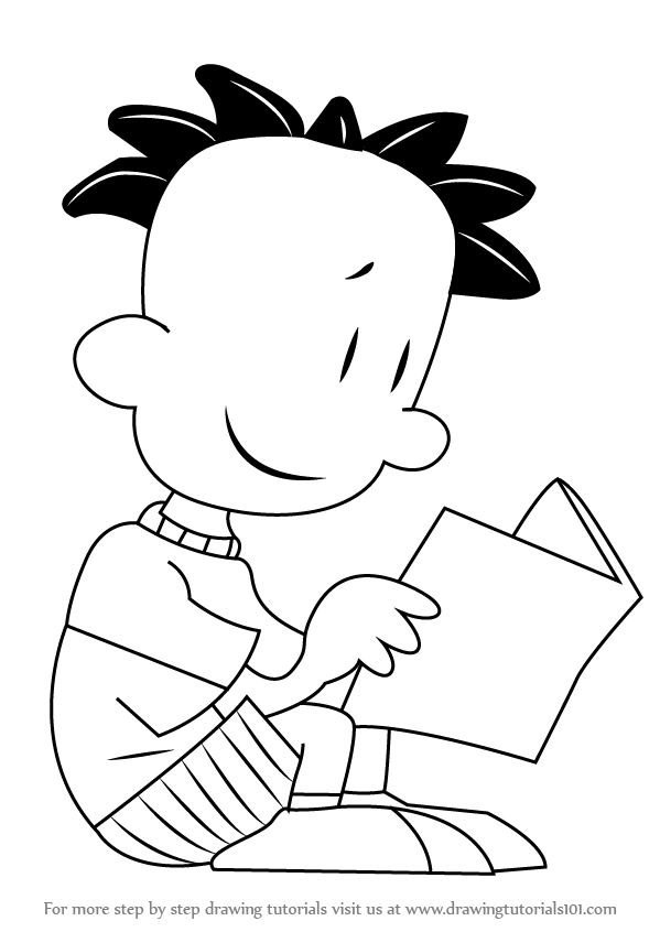 Learn How to Draw Nate Wright from Big Nate (Big Nate ...