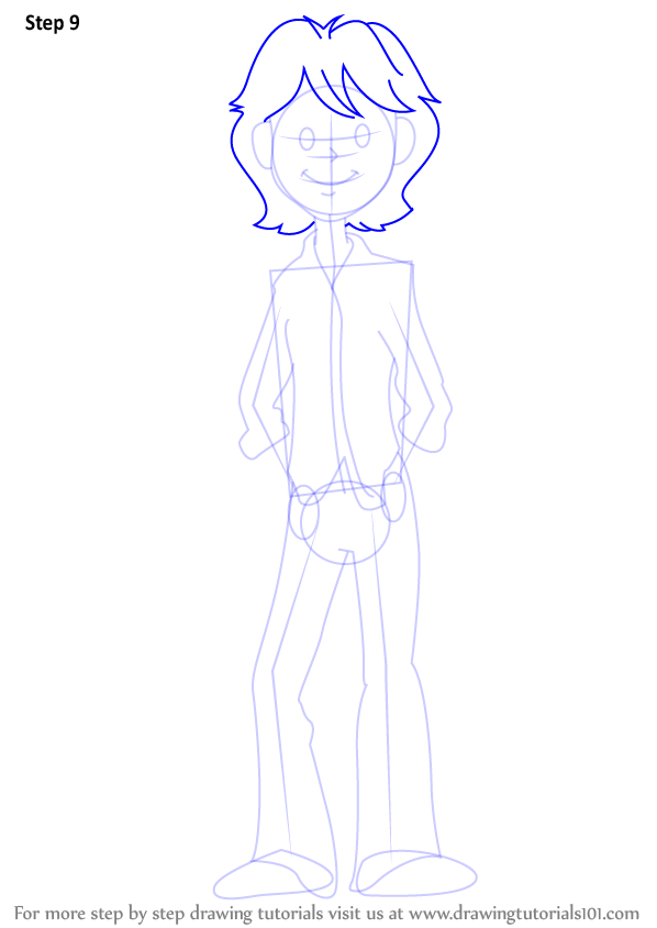 Learn    How to Draw    Brandon Roberts from Dork Diaries  Dork