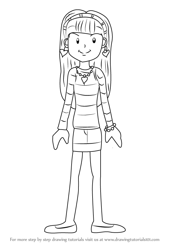 Learn How to Draw Chloe Christina Garcia from Dork Diaries ...
